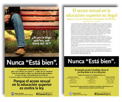 Sexual Harassment Poster in Spanish (1)