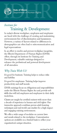 Training Flyer