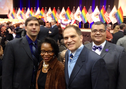 Gay Marriage Law Signing Ceremony