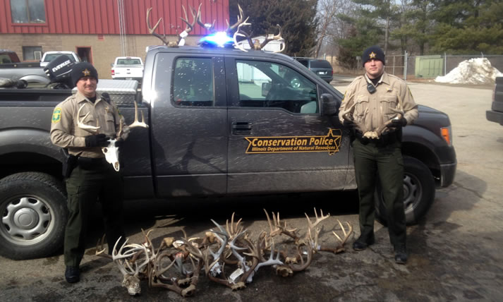 Conservation Police Officers at Work
