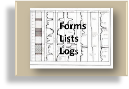 Forms, Lists, Logs