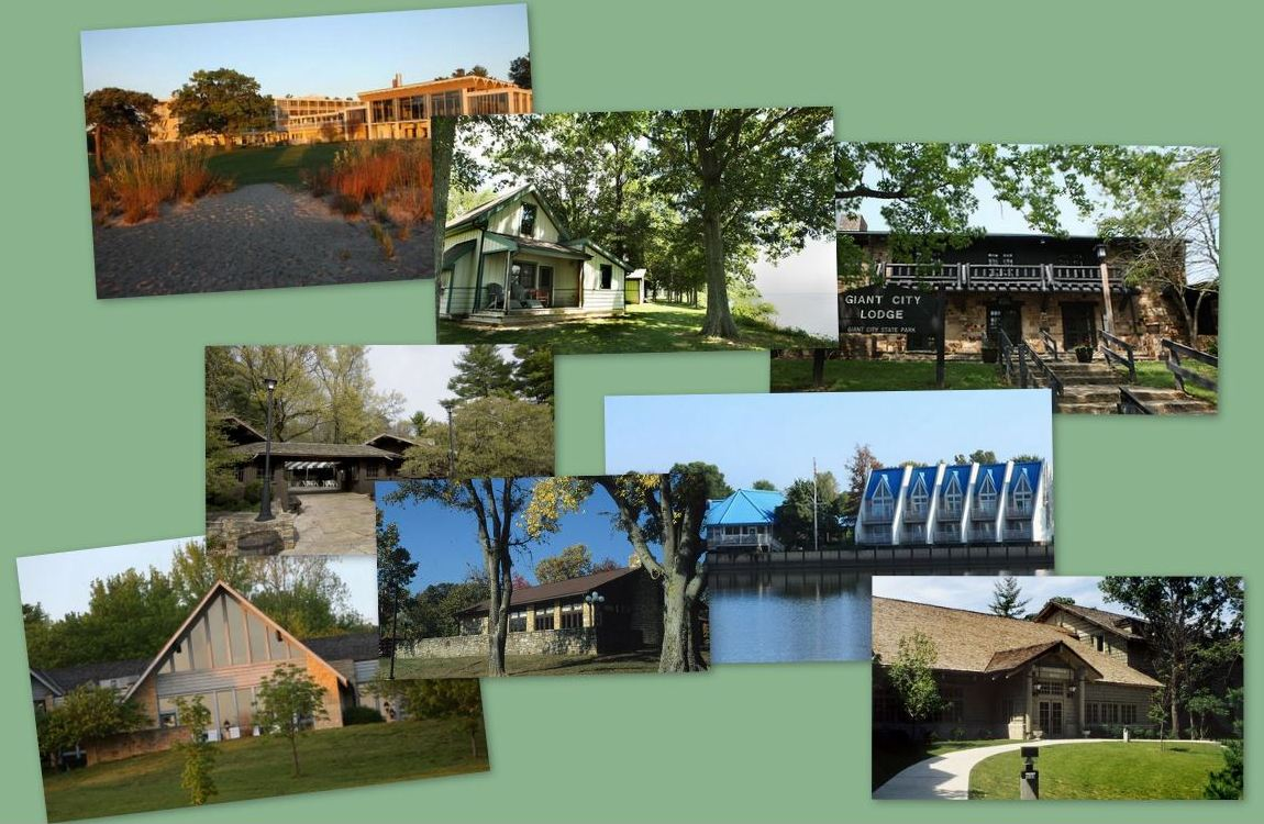 Picture Collage of Lodges