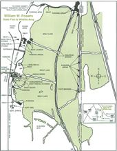 William W. Powers Site Map