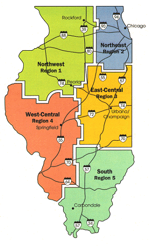State Map of Regions