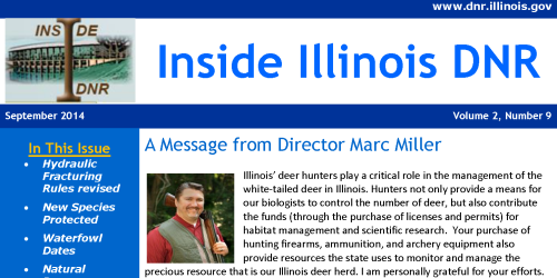 Subscribe to Inside Illinois DNR