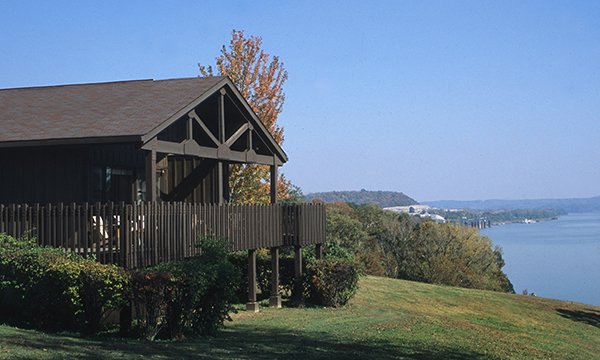 Cabin Overlooking Ohio River
