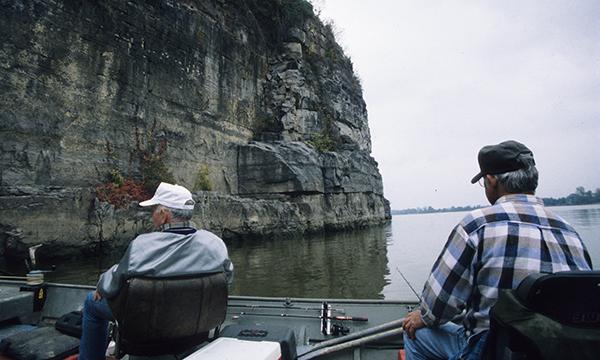 Fishing the Ohio River