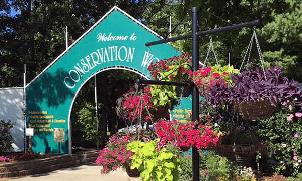 Conservation World Entrance at the Illinois State Fair