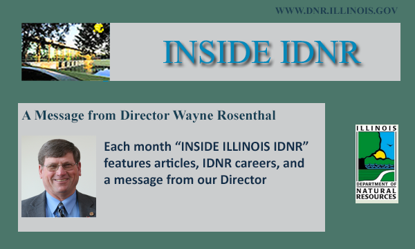 Subscribe to IDNR's Monthly Newsletter