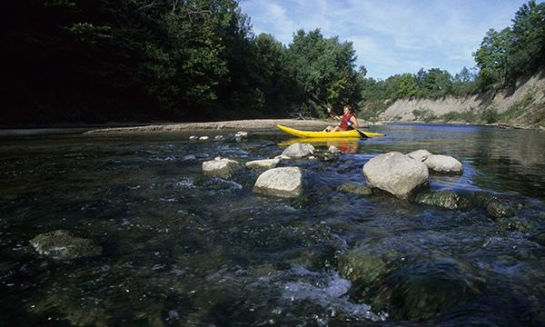 Kayaking the Middle Fork