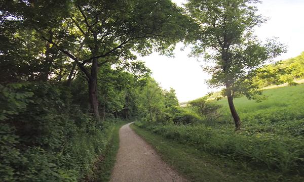 Hike-Bike trail