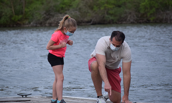 Father Daughter Dock
