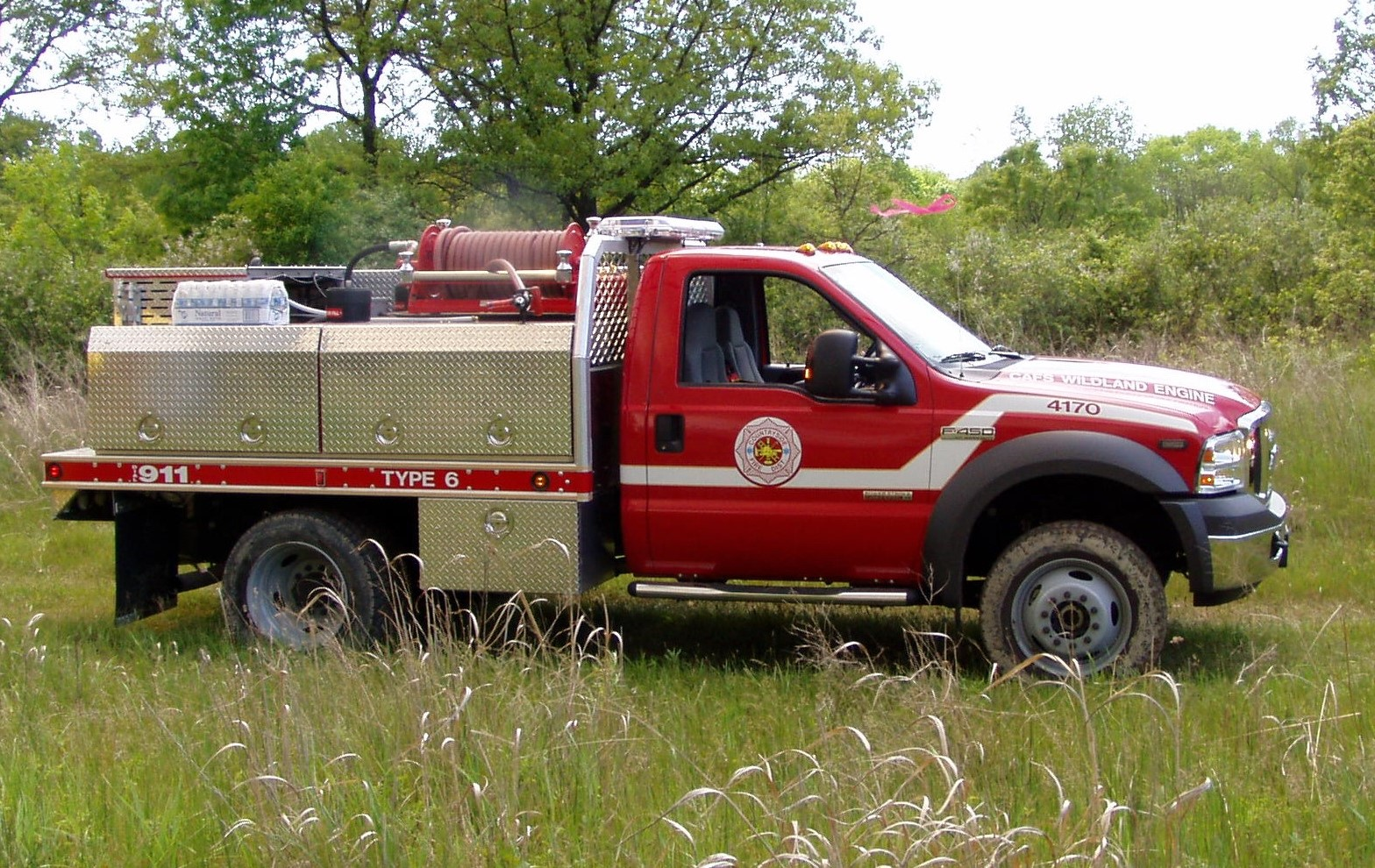 Volunteer Fire Assistance Grant Vehicle