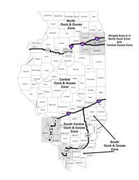 Waterfowl Dnr Maps on