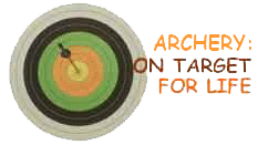 Archery: On Target for Life logo