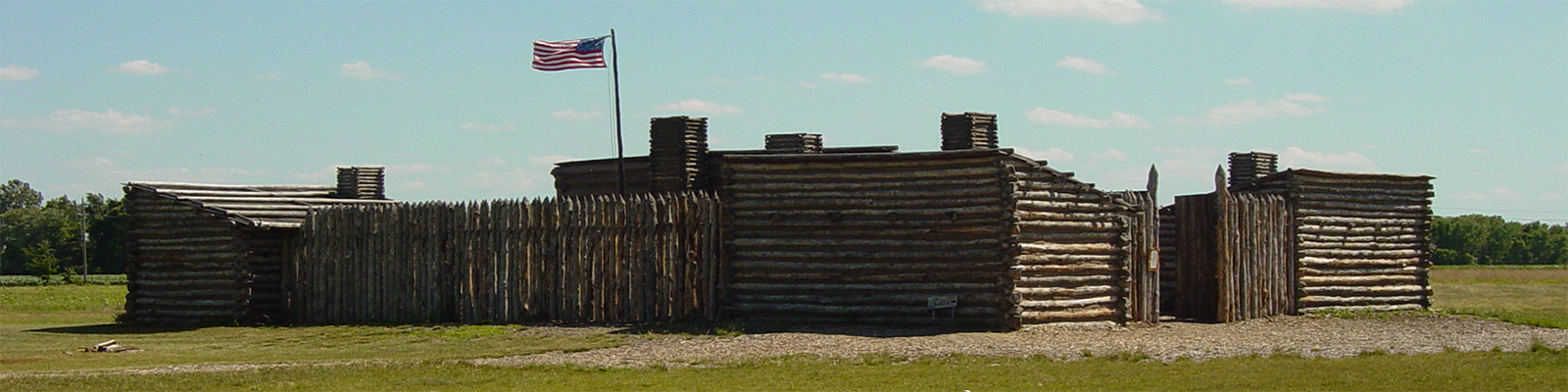 Fort at Lewis and Clark Site