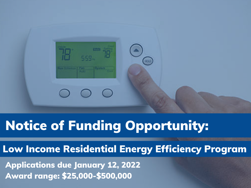 Low Income Residential Energy Efficiency Program