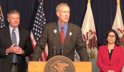 Rauner calls on General Assembly to pass balanced budget, no new taxes