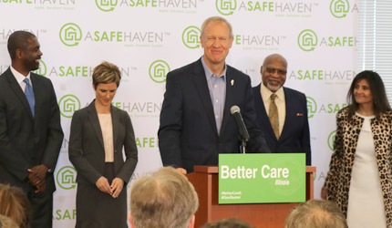 Gov. Rauner announces sweeping $2 billion behavioral health initiative