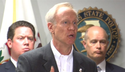 Gov. Rauner proposes death penalty for mass murderers and killers of law enforcement officers
