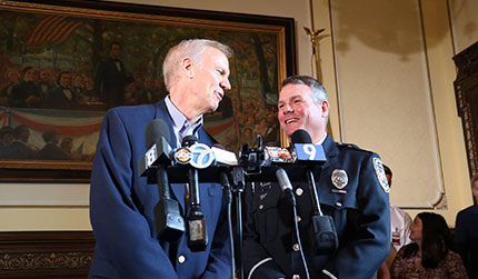 Gov. Rauner proclaims today Officer Mark Dallas Day in Illinois
