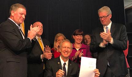 Gov budget signing
