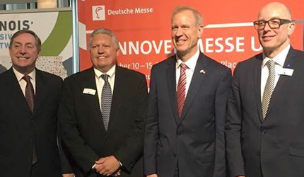 Governor Rauner makes it official: HANNOVER MESSE coming to Chicago this fall