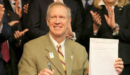 Gov. Rauner signs bipartisan legislation to ensure continued access to quality medical care for state's most vulnerable