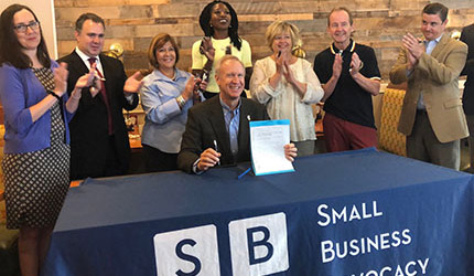 New law that removes small business barrier