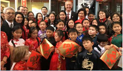 Students kick off Lunar New Year at Governor's Office