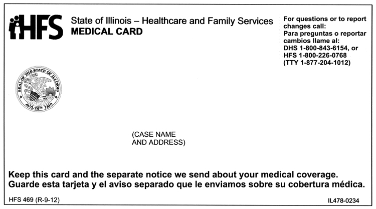 Medical Card Customer Brochure