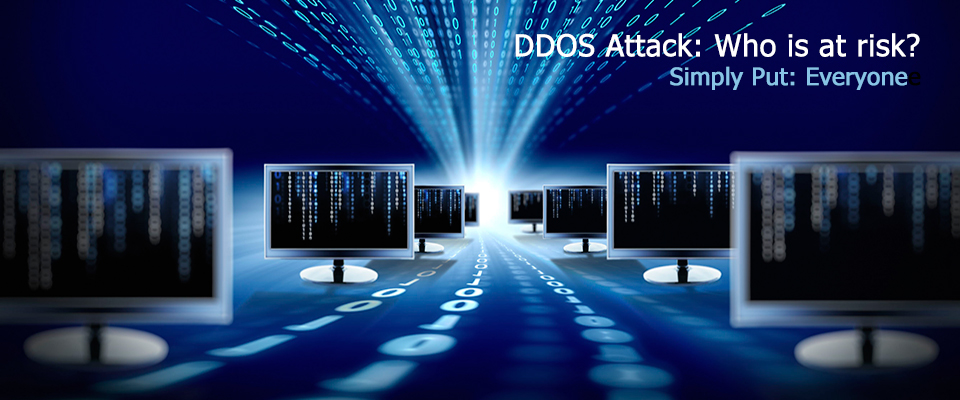 DDoS Protection: Who is at Risk...​Simply Put: Everyone