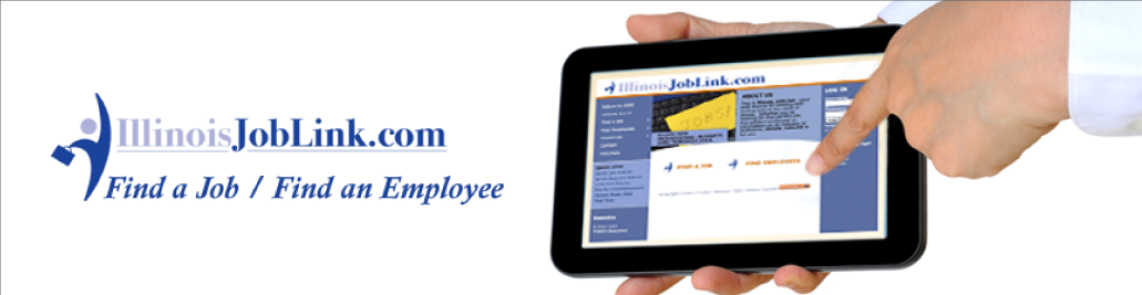 Illinois JobLink.com Help Connect Jobless with Businesses banner