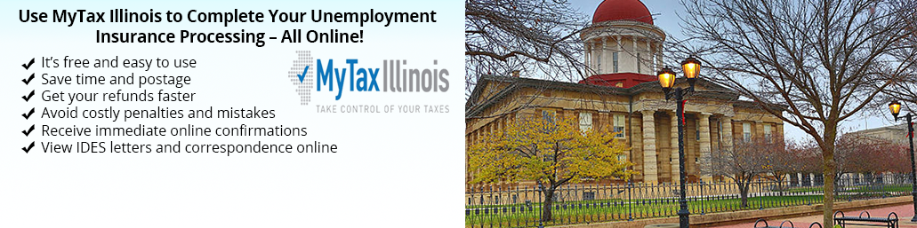 MyTax Illinois For Employers banner