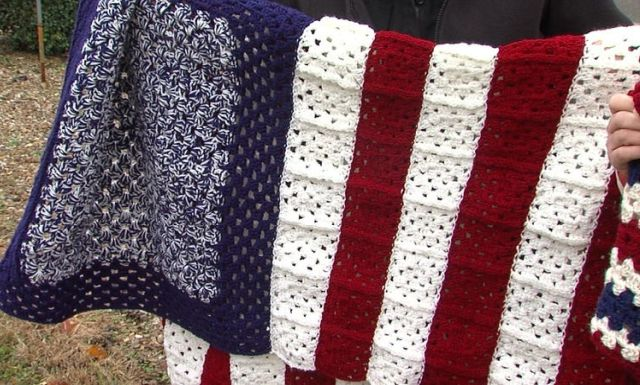 Impact Incarceration Program delivers blankets to Anna Veterans Home