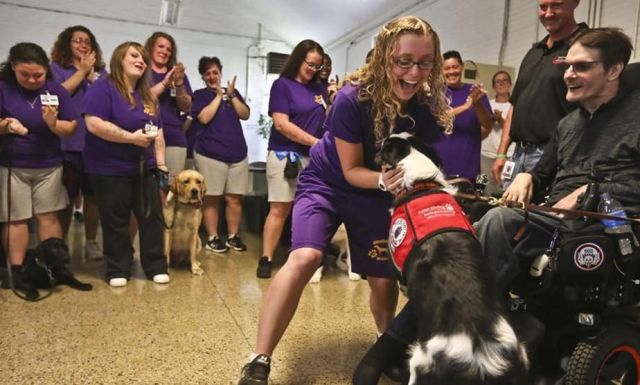 For Logan Correctional Center inmates, canines are source of pride beyond the prison