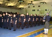 Illinois Department of Corrections cadet graduation