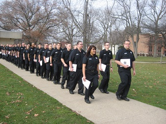 IDOC closes out year with class graduation of 122 correctional officer cadets