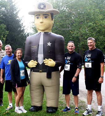 Western IL CC supports law enforcement in 5K event