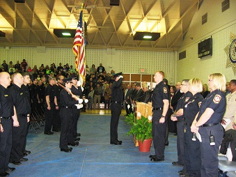 First Correctional Officer Cadet Graduation of 2015