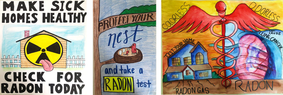 Radon poster winning images