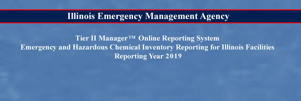 Emergency and Hazardous Chemical Inventory Reporting Year 2018
