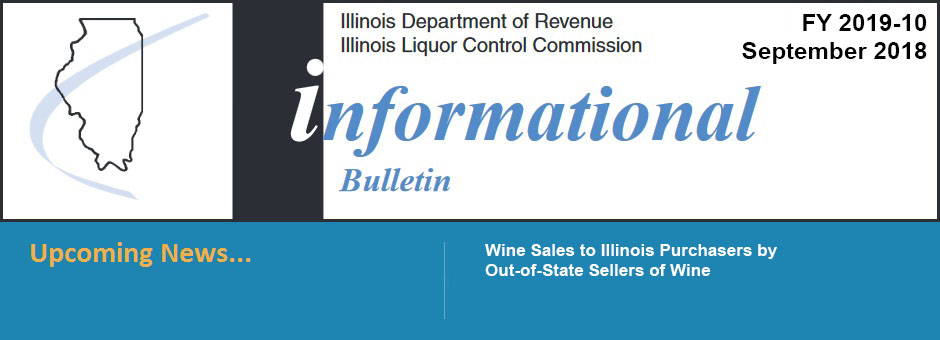 Wine Sales to Illinois Purchasers
