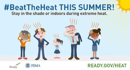 Heat Advisory: State Officials Offer Heat Safety Tips