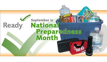 September is National Preparedness Month in Illinois