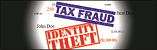 Tax Fraud and Identity Theft Logo