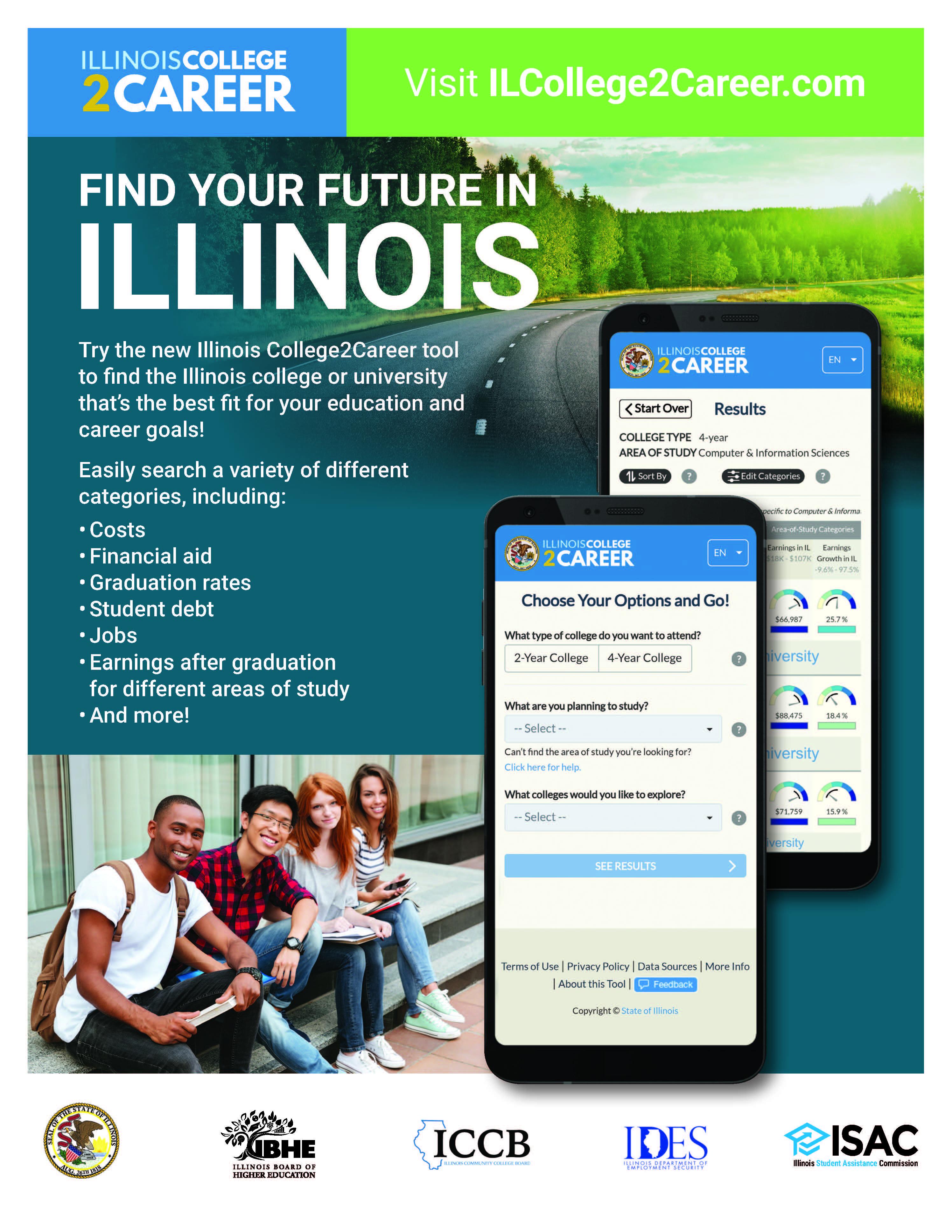 Illinois College2Career Tool