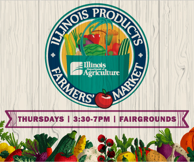 Illinois Products Farmers'Market Logo