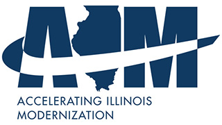 Accelerating Illinois Modernization Logo