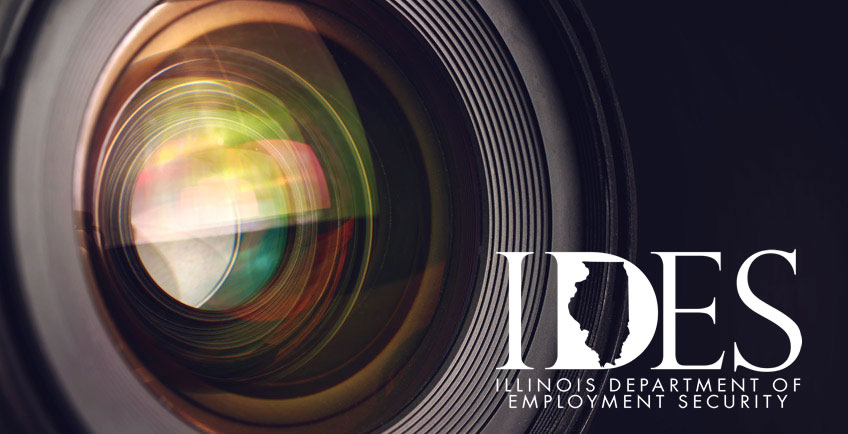 Department of Employment Security Through the Lens series logo